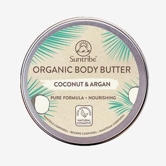 Organic Body Butter, Coconut & Argan 150 ml
